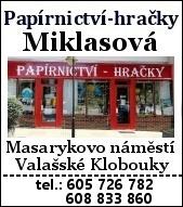 Papirnictvi, hracky Miklasova
