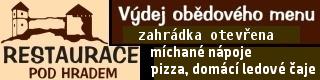 Brumov: Restaurace Pod Hradem