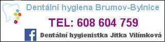 Dentální hygienistka Jitka Vilímková