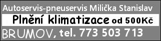 Autoservis-pneuservis Milička Stanislav